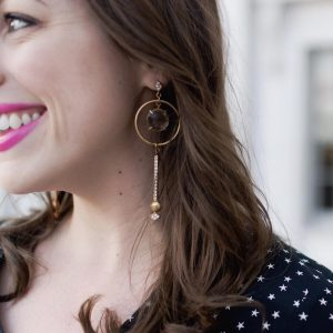 Tis the season for statement earrings