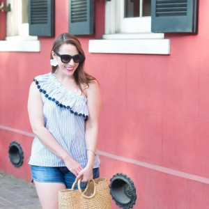 Wearing two of my favorite spring items on the bloghellip