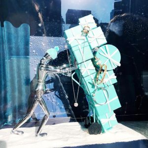 This years tiffanyandco window did not disappoint