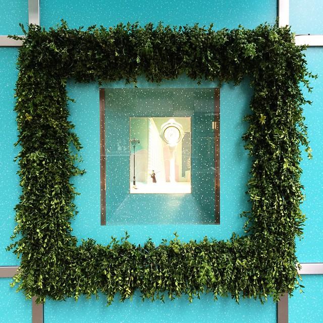 The prettiest window display at Tiffany's.