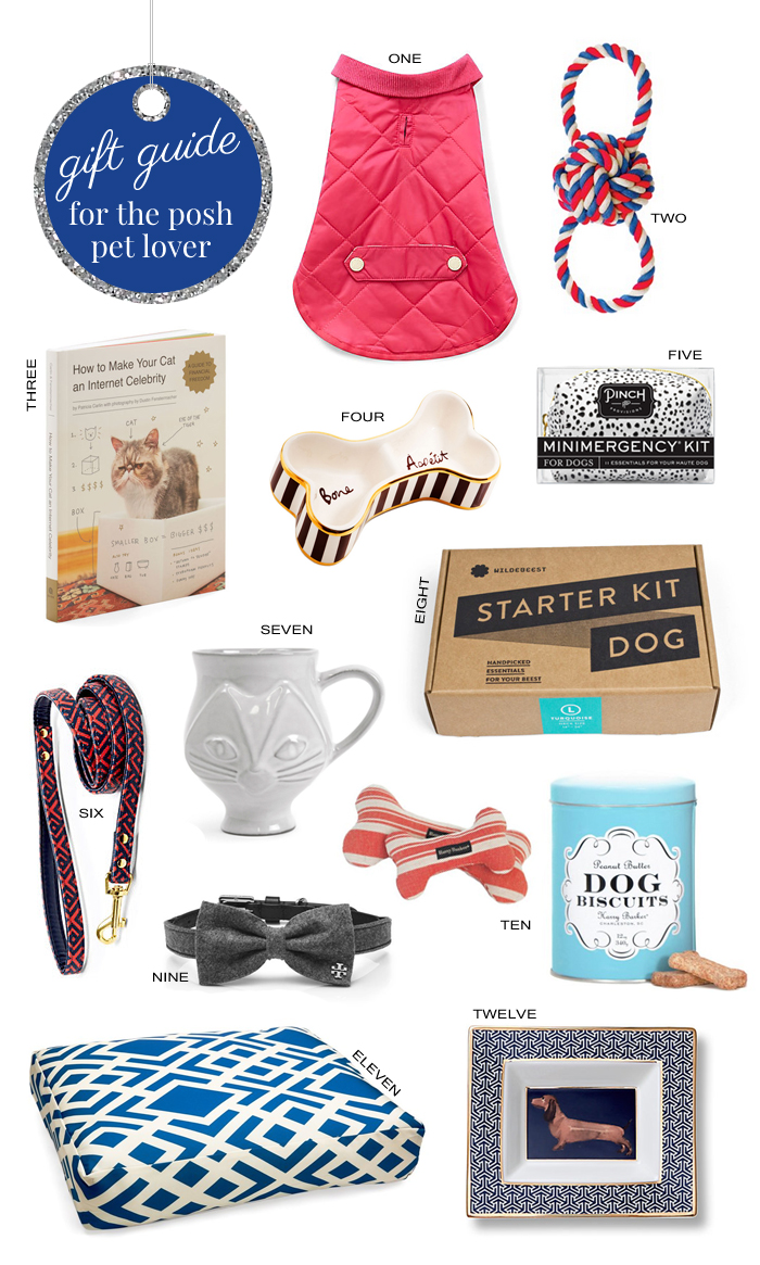 HolidayGiftGuideForThePoshPetLover2014