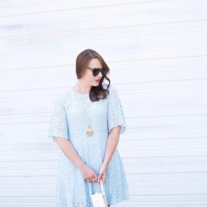 Wearing my newest LBD little blue dress on the bloghellip