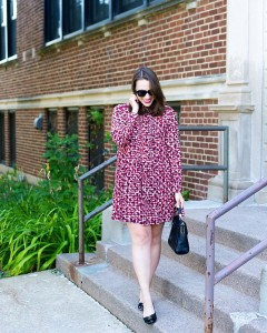 Ill be wearing this katespadeny dress on repeat this fall!hellip