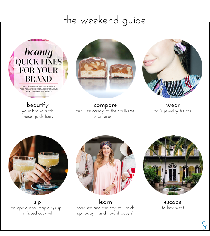 The Weekend Guide 09.25.15