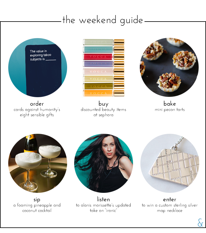 The Weekend Guide 11.13.15