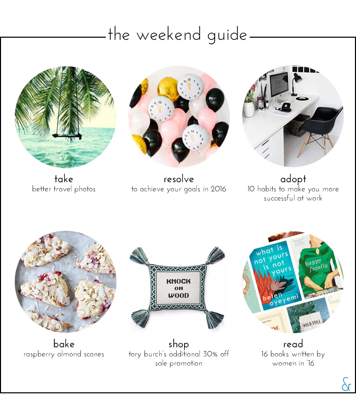 The Weekend Guide 01.01.16