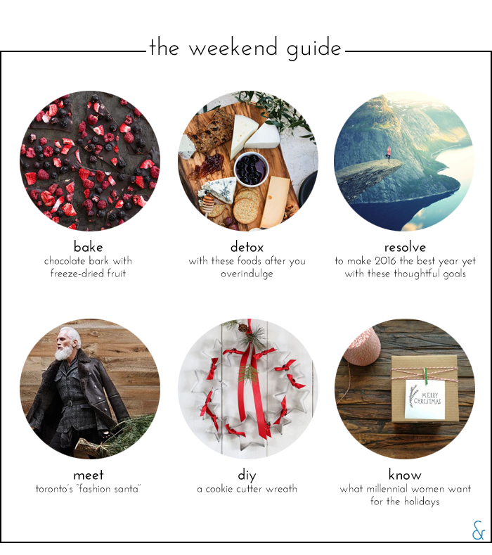 The Weekend Guide 12.18.2015
