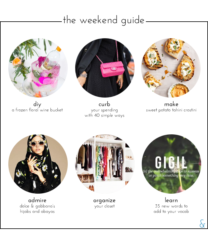 The Weekend Guide 01.08.16