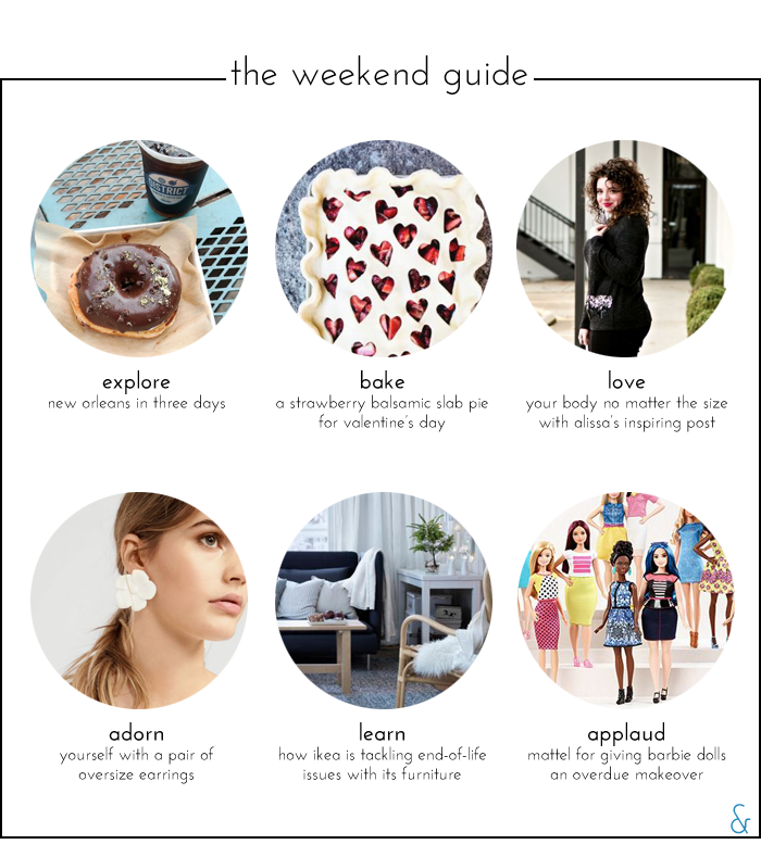The Weekend Guide 01.29.16