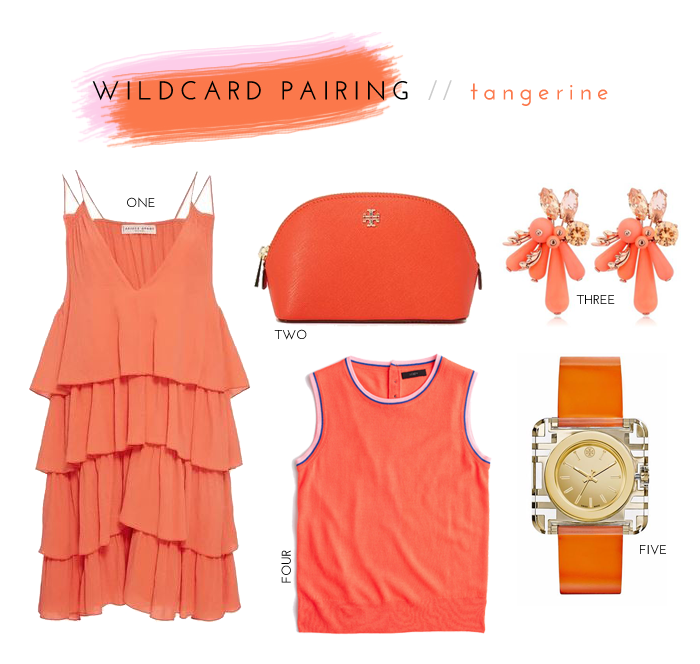 Color Crush Wildcard Pairing: Tangerine