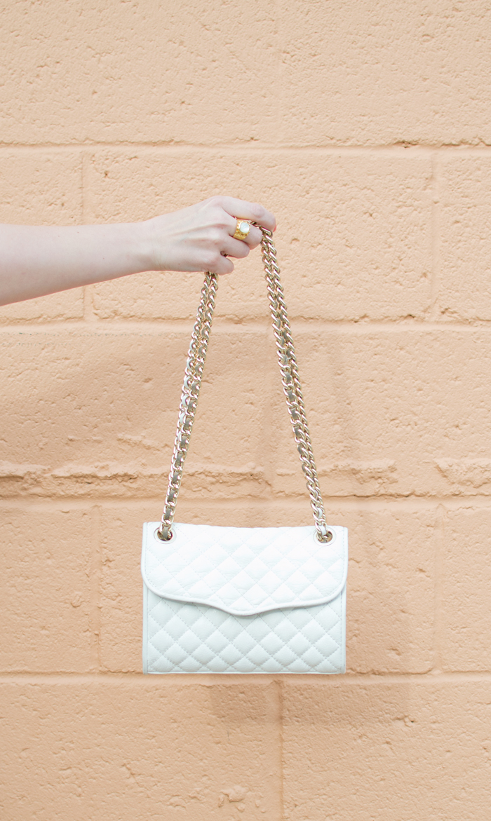 Rebecca Minkoff Mini Affair Bag White