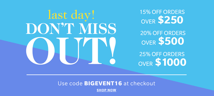 Last Day of the Shopbop Sale