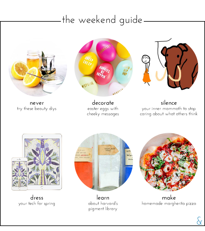 The Weekend Guide 03.25.16