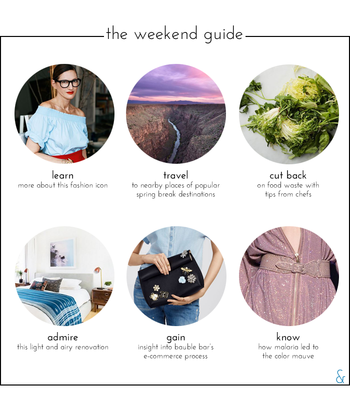 The Weekend Guide 04.01.16
