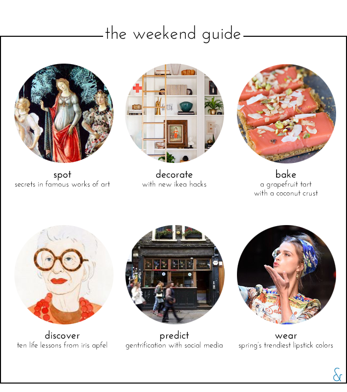 The Weekend Guide 04.29.16
