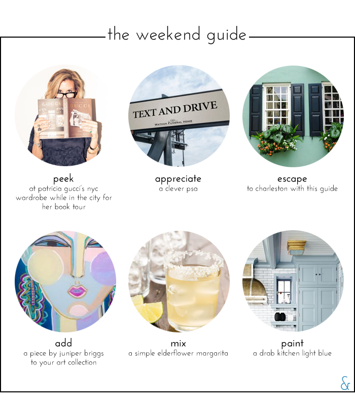The Weekend Guide 05.13.16