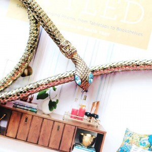 I found the best vintage whitinganddavis snake necklace on eBay!hellip