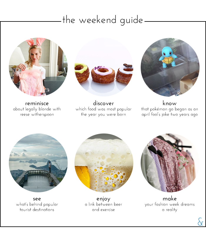 The Weekend Guide 07.15.16