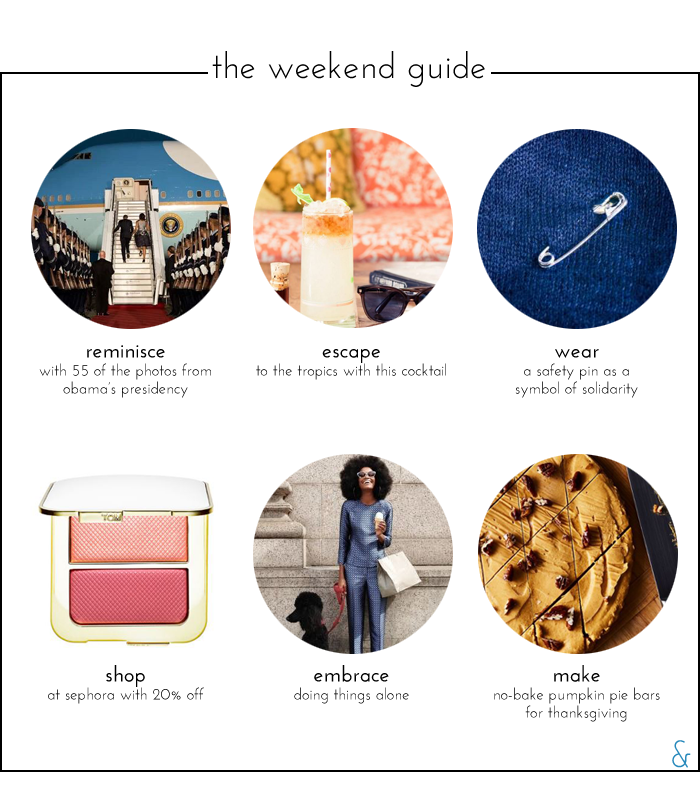 The Weekend Guide 11.12.16