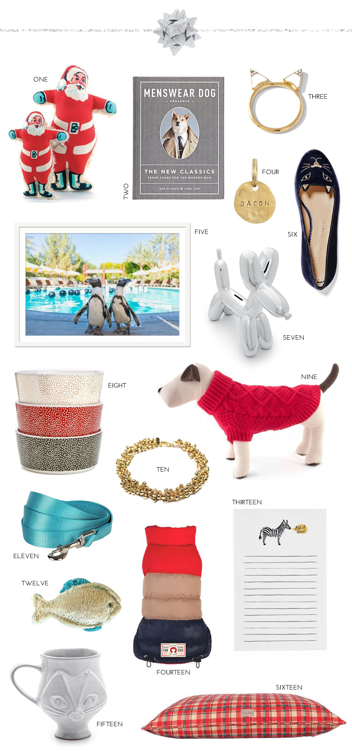 Gift Guide: Animal Lovers & Pampered Pets