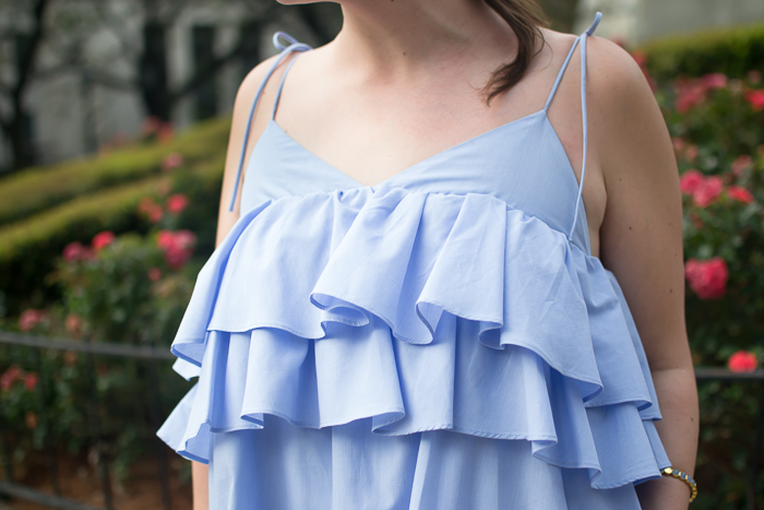 Zara Strappy Dress with Frills :: Bedknobs & Baubles
