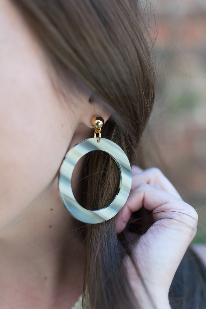 J.Crew Fun Circle Earrings :: Bedknobs & Baubles