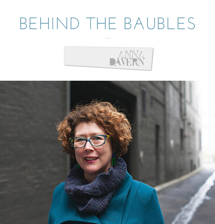 Behind the Baubles interview with designer Anna Davern