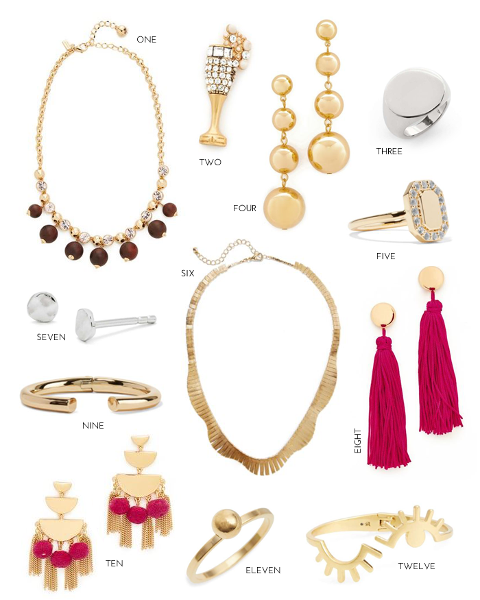 Baubles on a Budget: Under $55
