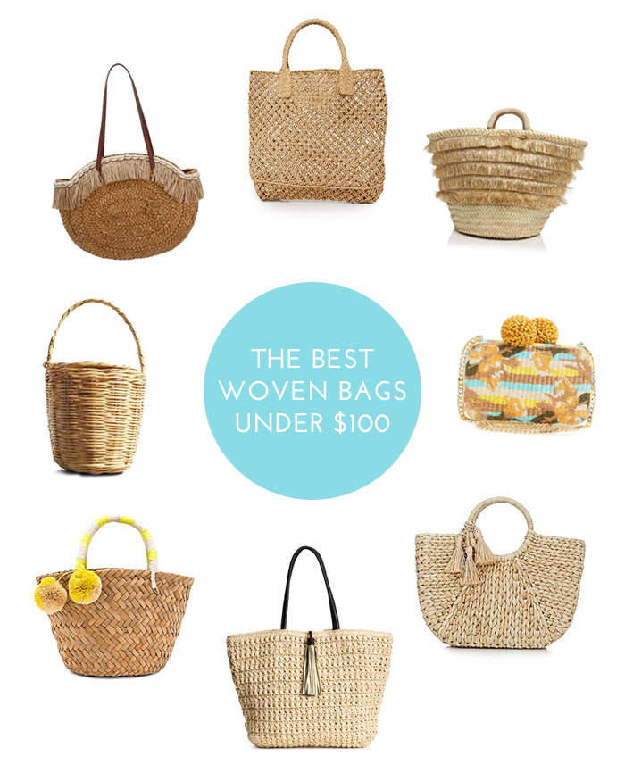 The Best Woven Bags Under $100
