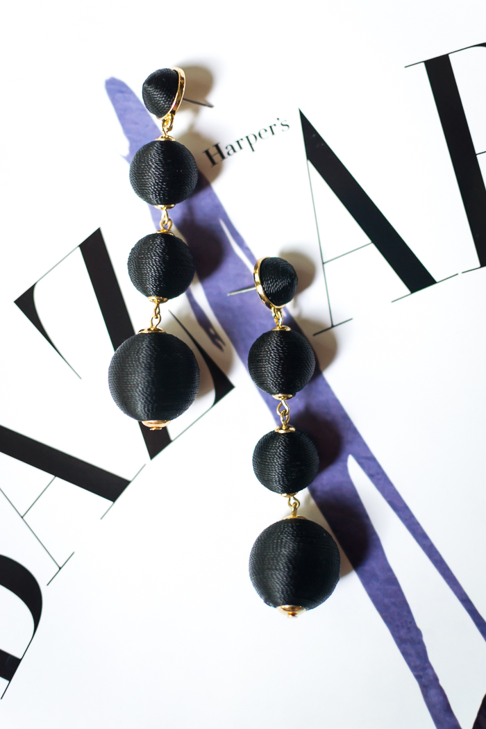 Bauble Bar Criselda Ball Drop Earrings