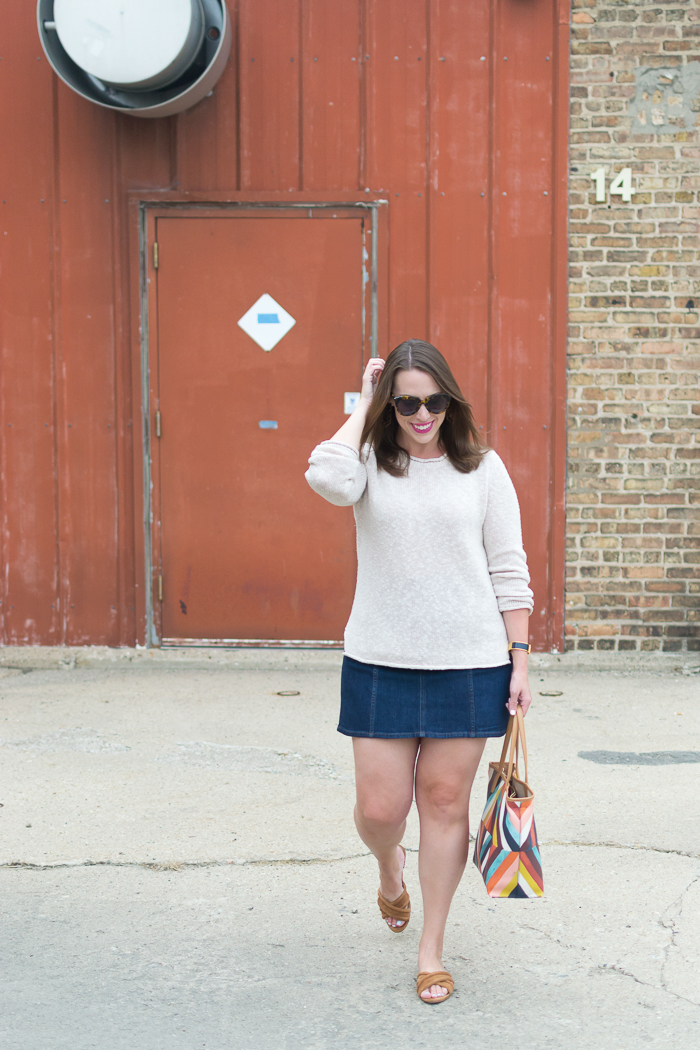 Garnet Hill Linen & Cotton Crewneck Sweater