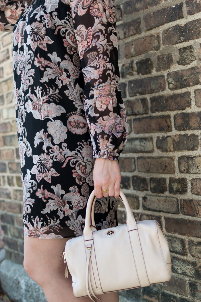 Loft Royal Floral Shirtdress