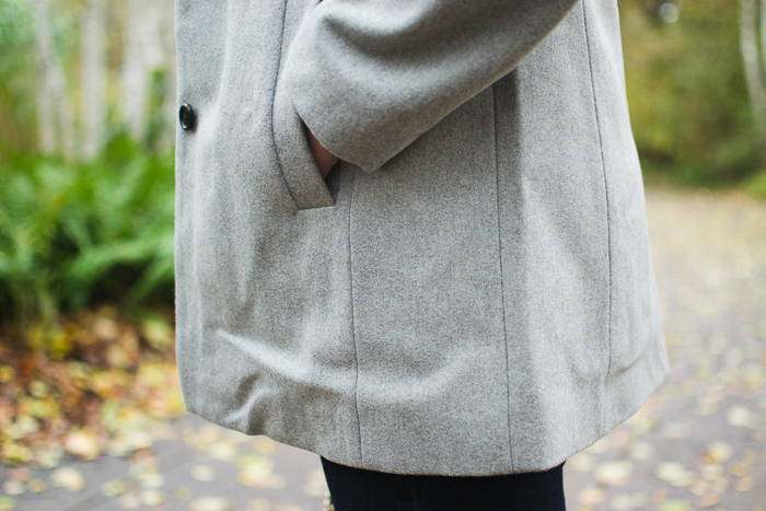 J.Crew Swingy coat in Italian wool melton :: Bedknobs & Baubles