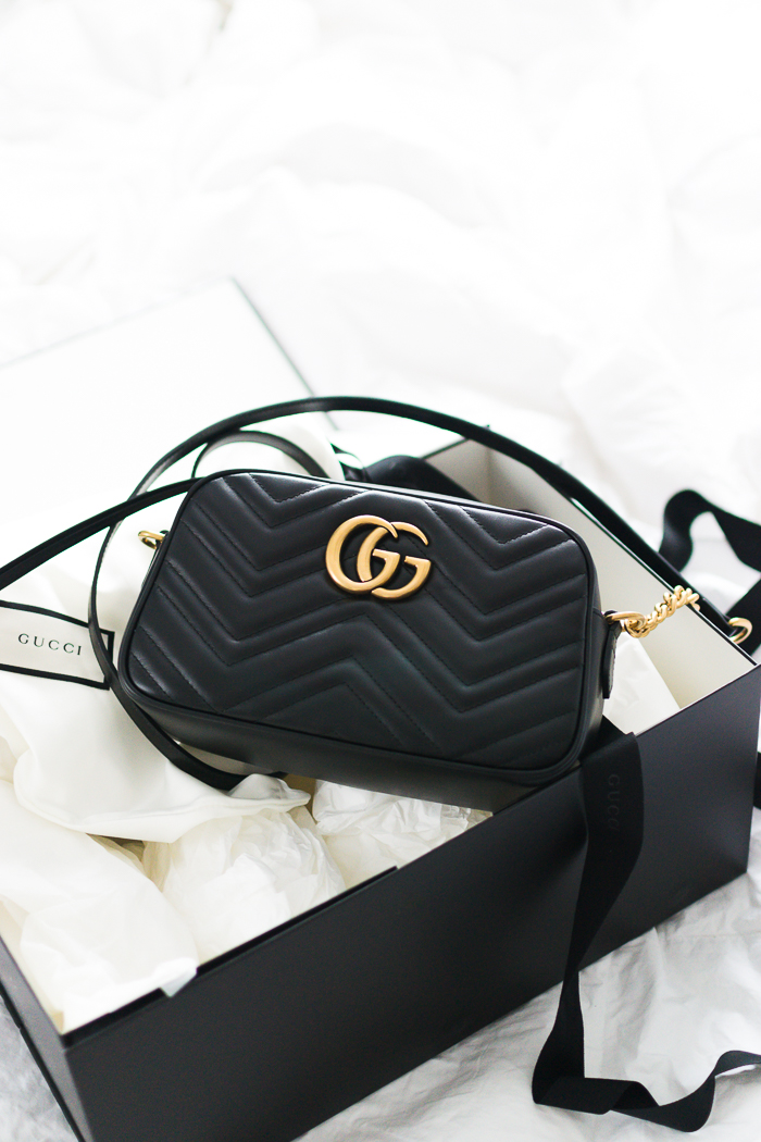 37299bda0233 What Fits Inside the Gucci Small Marmont Bag?