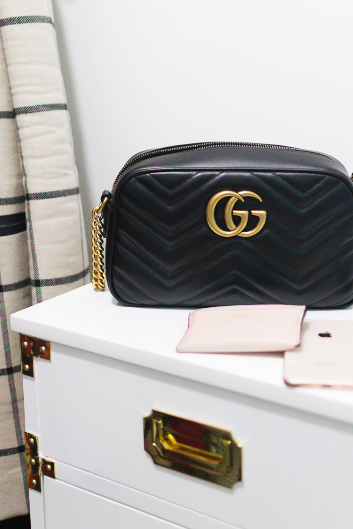 What Fits Inside the Gucci Small Marmont Bag?