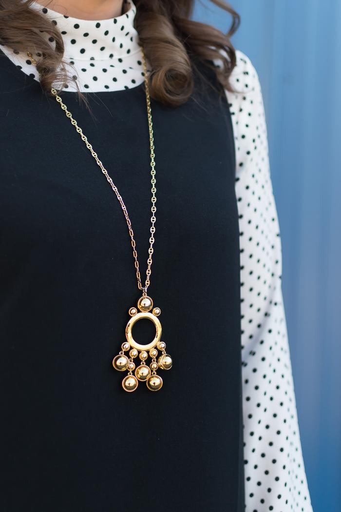 Lele Sadoughi pendant