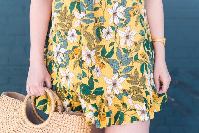 Target - Who What Wear - Short Sleeve Babydoll Mini Dress