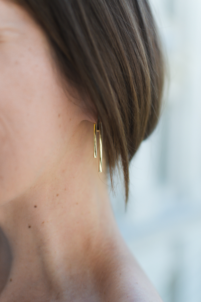 AUrate jewelry review - Tribar Ear Jacket