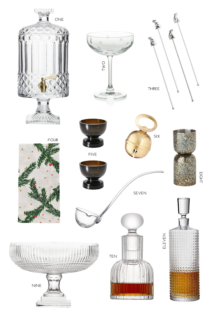 Holiday Barware Essentials
