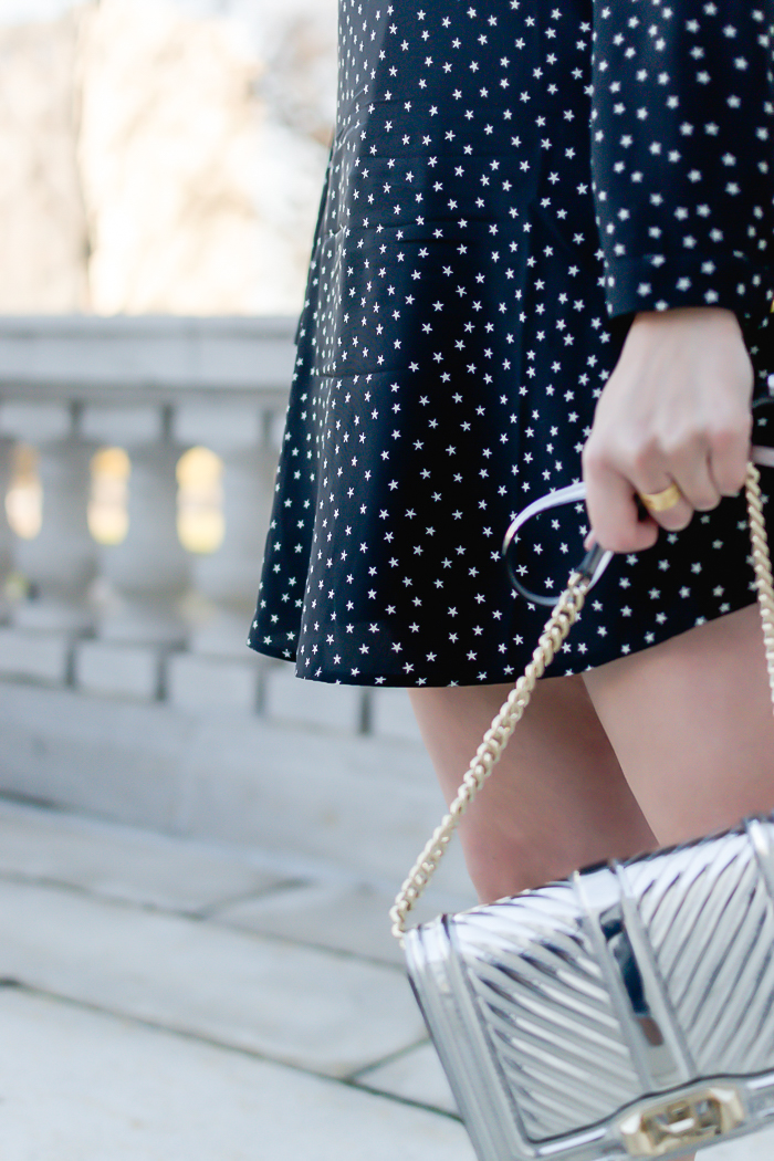 Madewell star-print dress