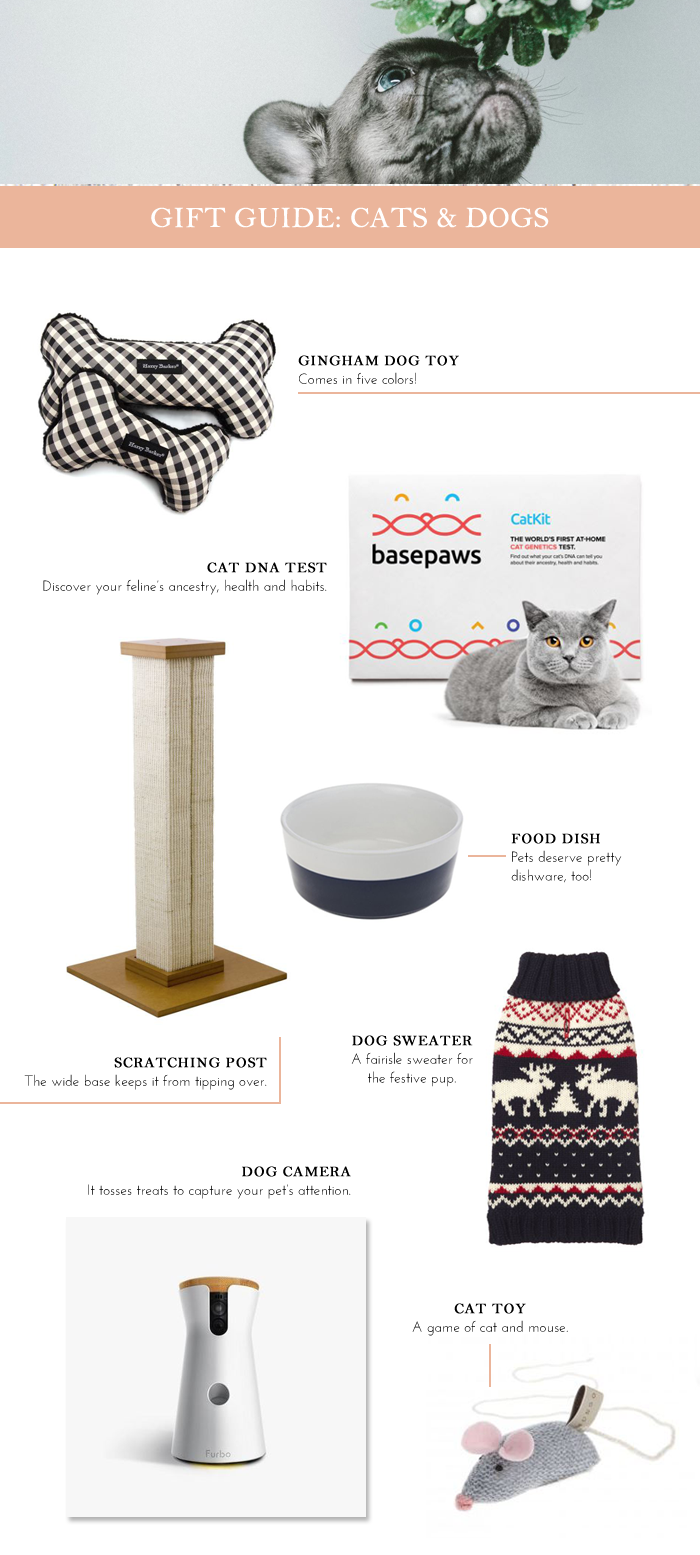 Gift Guide: Cats & Dogs 2018