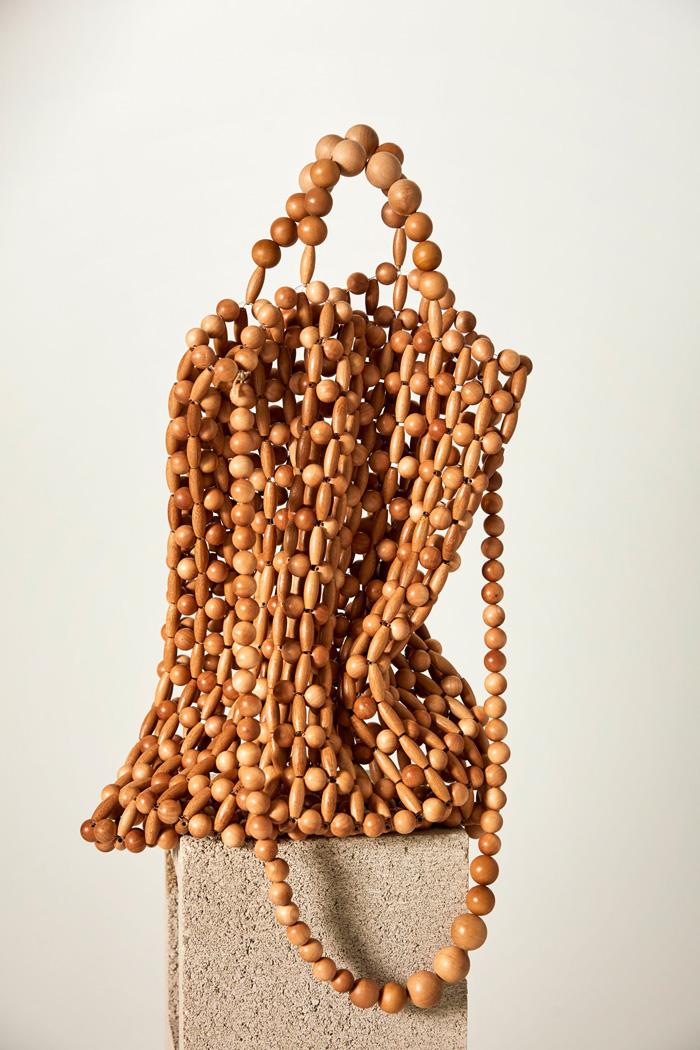 Wood Bead Bags Spring 2019