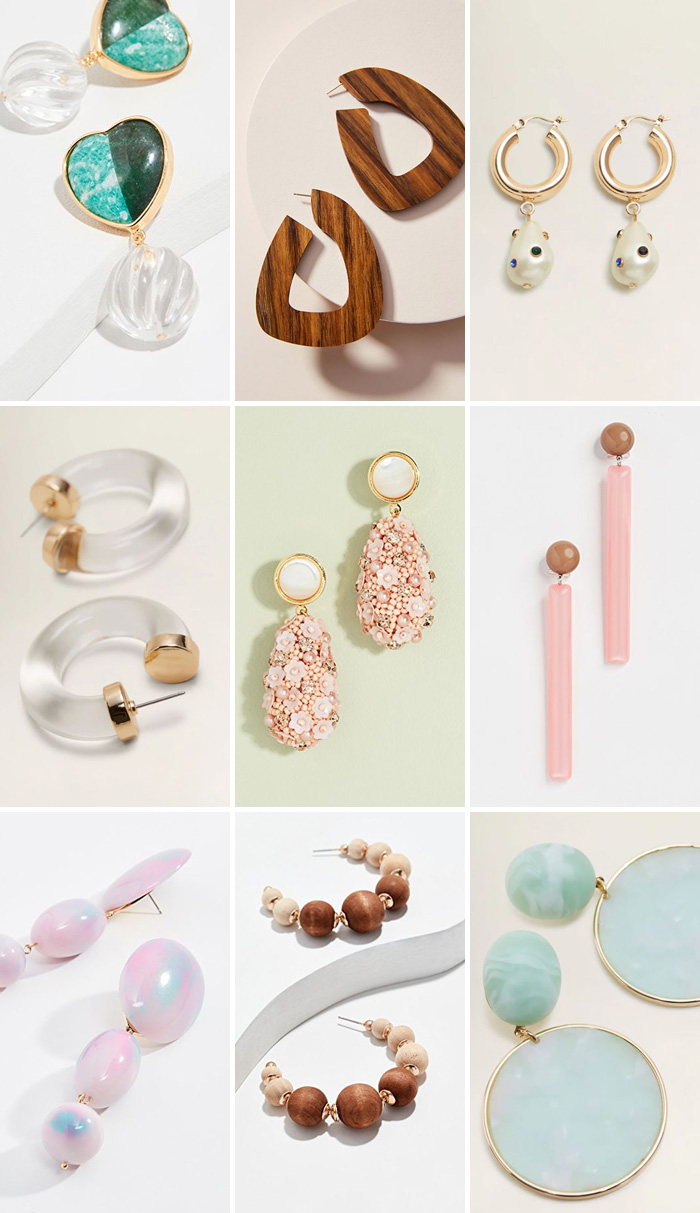 Spring 2019 Earrings
