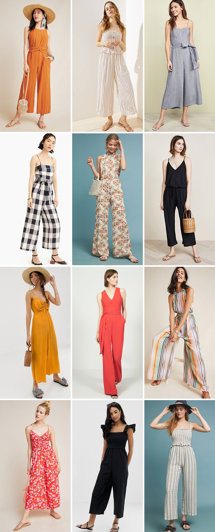 12 Jumpsuits That are Perfect for Summer