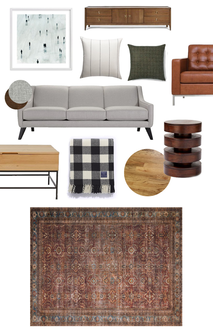 Living Room Rug Options